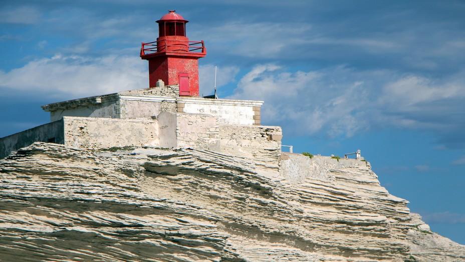 Le phare de Bonifacio (Corse-du-Sud) @ David Raynal