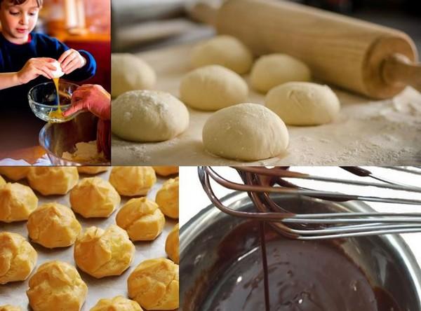 """Préparation de la recette """"Oeufs pralinés et choux chocolat... @ Pixabay/Lindigomag"""