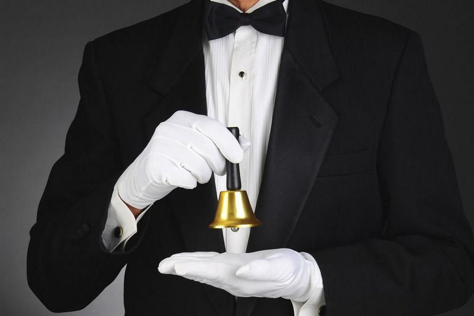 Conciergerie d'un grand palace à Cannes. @ DR/