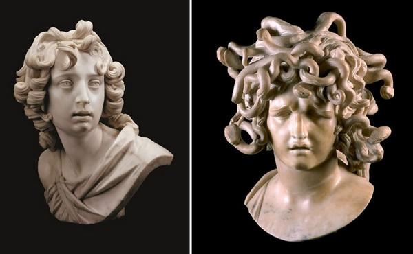 Le Bernin a donné à l'héritage du Caravage une nouvelle direction avec sa sculpture.@Olivier Middendorp.