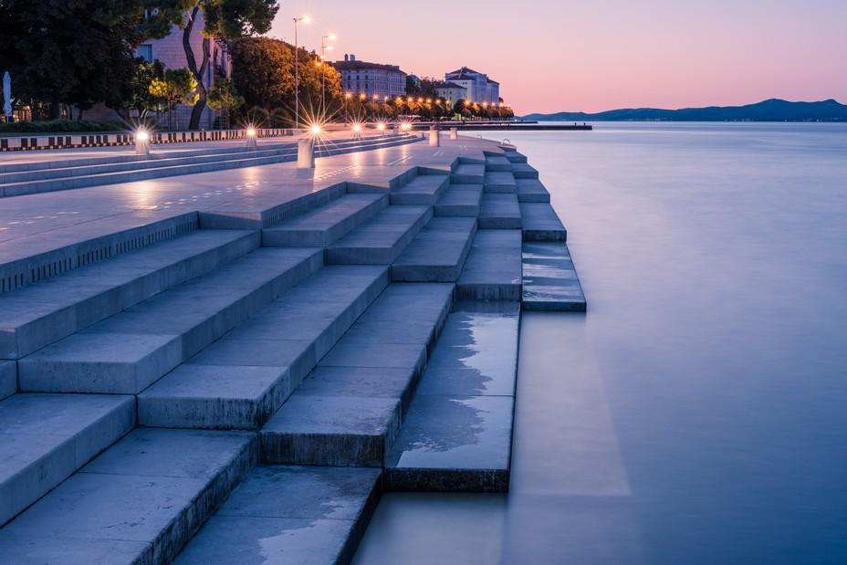 Zadar, et ce sublime orgue de mer @Luka Esenko/OT.Croatie