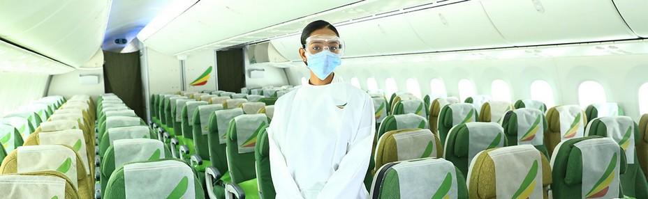 Ethiopian Airlines - Avec l'assouplissement des restrictions de voyage, la compagnie accueille de nouveau les voyageurs français et européens, tout en respectant les mesures sanitaires. @ DR