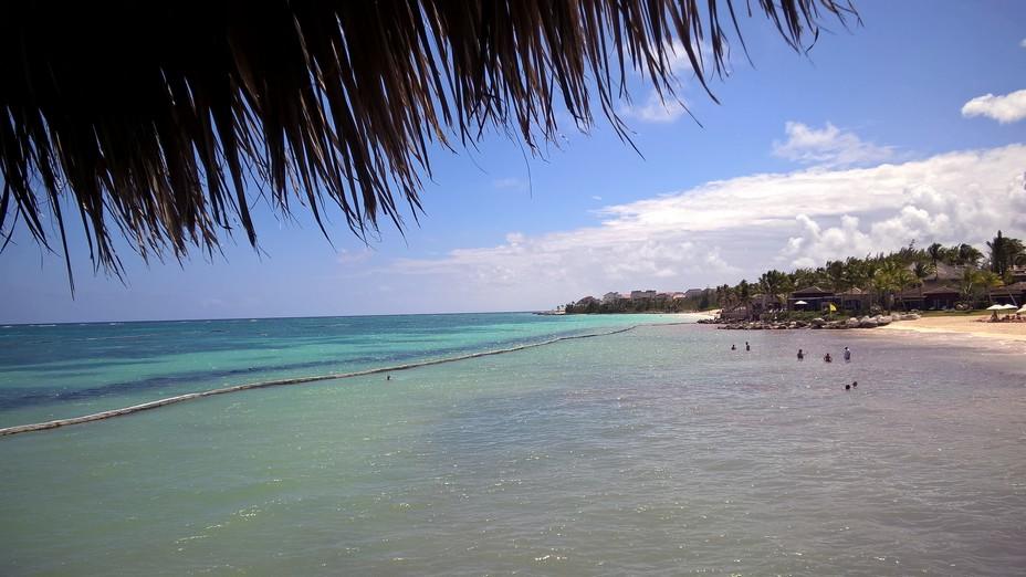 La côte caribéenne de Punta Cana. Crédit photo David Raynal.
