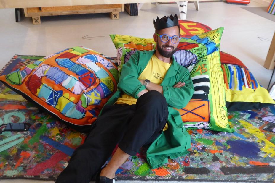 L'artiste David Ferreira, un joyeux plasticien @ C.Gary