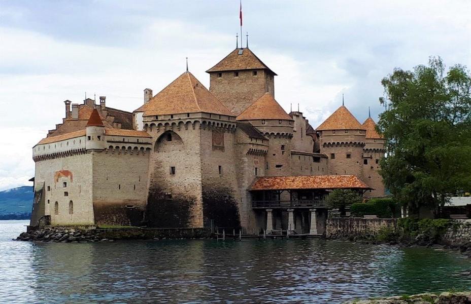 Riviera vaudoise château de Chillon ©Degon