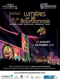 """Affiche de la manifestation """" Lumières sur le Bourdonnais """". @ DR"""