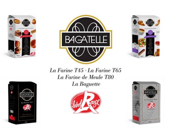 Un éventail des farines Bagatelle. © Farines Foricher