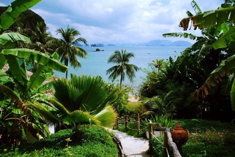 Mer, soleil et verdure.... en Thaïlande .@ Pixabay/Lindigomag