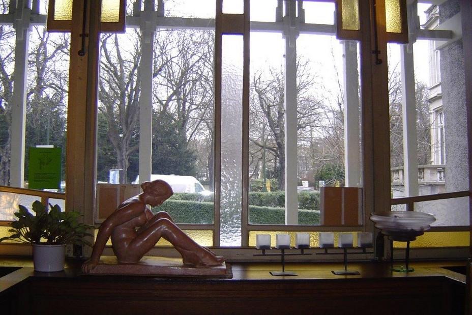Bruxelles - intérieur de la maison de Paul Cauchie. @ A.Degon