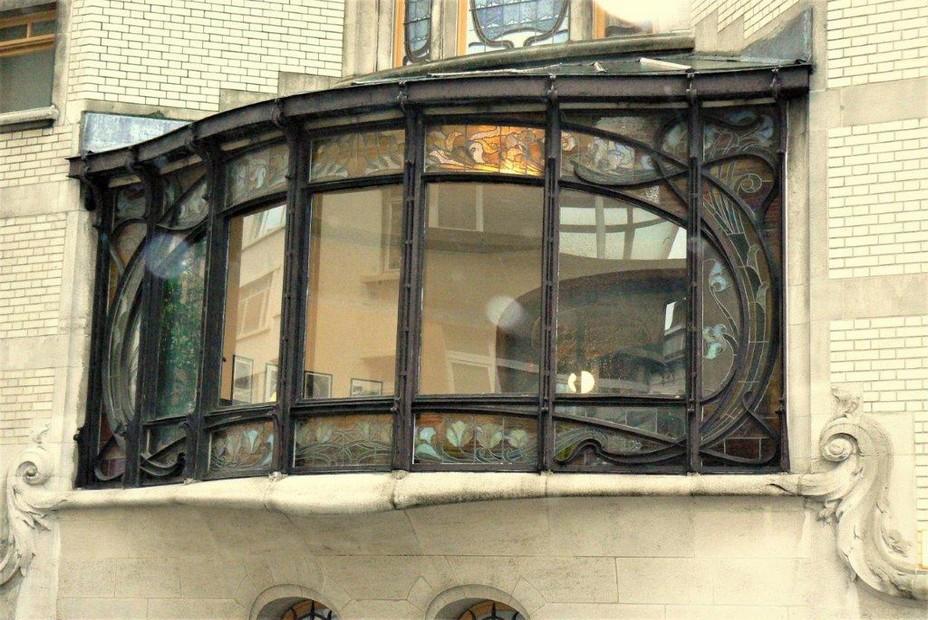 Bruxelles - Hôtel Hannon, rue de la Jonction. Architecte Jules Brunfaut.@ A.Degon