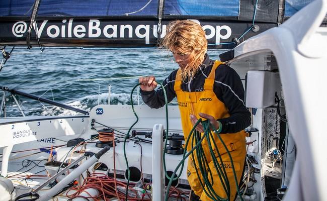 Le Vendée Globe est une épreuve unique au monde, où la compétition pure côtoie l'aventure.@ VG