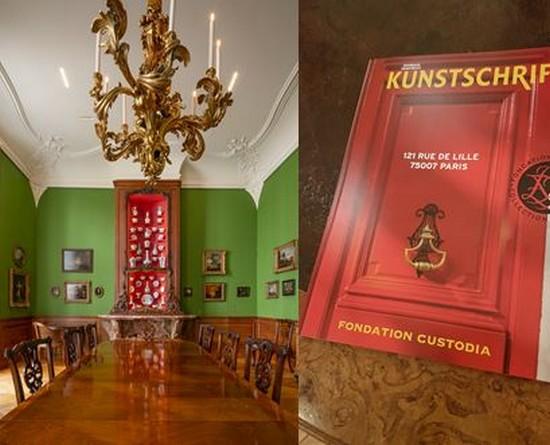 Fondation Custodia - grand salon (c) Jannes Linders - et  catalogue de la Fondation . @ K.Frossard