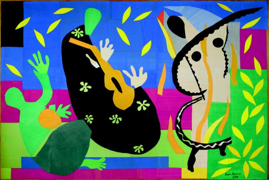 La Tristesse du roi, 1952.j© Succession H. Matisse