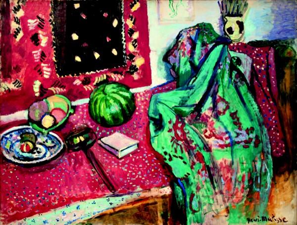 Les tapis rouges, 1906 © Succession H. Matisse