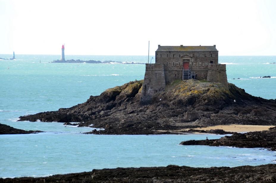 Le fort du Petit Bé au large de Saint-Malo  @ David Raynal