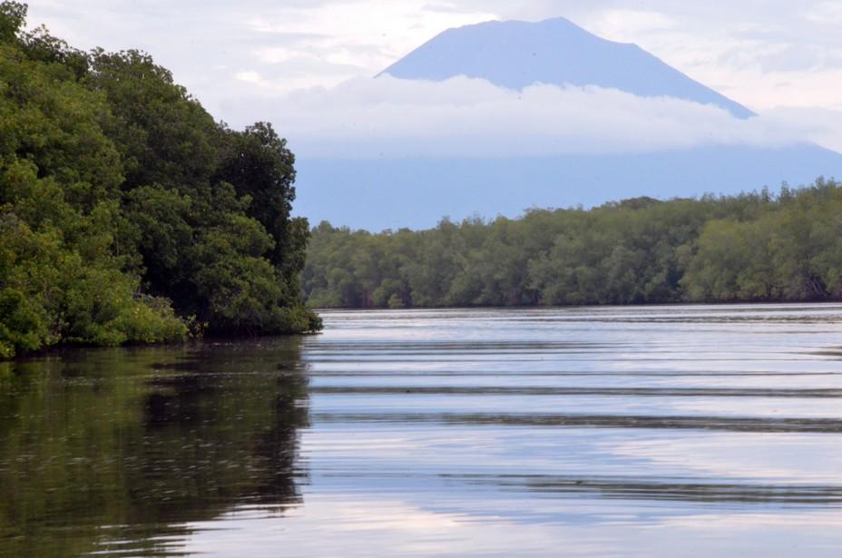 Le Salvador est le plus petit pays d'Amérique centrale et le seul à ne pas avoir de façade maritime sur la mer des Caraïbes. C'est une contrée de volcans, de montagnes, mais aussi de forêts. Sur la photo la réserve de biosphère de la baie de Jiquilisco@ David Raynal