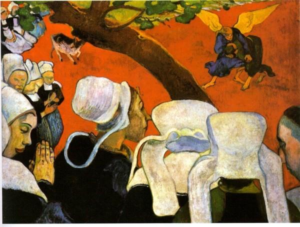 """""""Vision après le sermon """" toile de Gauguin à Pont Aven @ DR"""