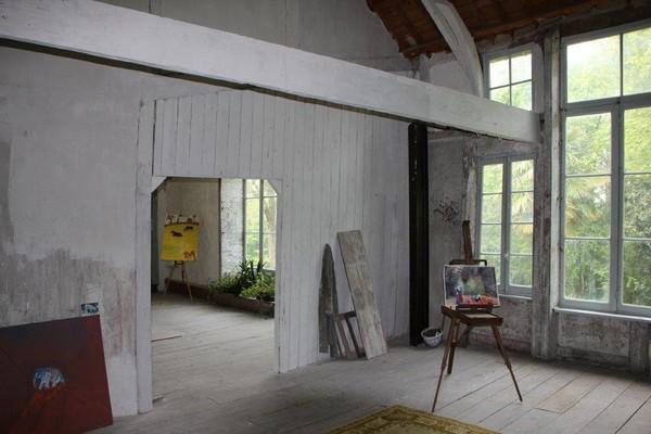 l'atelier au manoir de Lezaven @ A.Degon