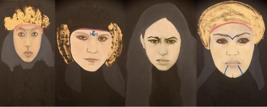Dans ce projet intitulé Les Princesses, Dalila a effectué des recherches sur la guerre d'Algérie son pays d'origine.© David Raynal