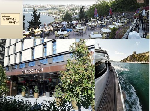 Le Sheraton Istanbul City Center est un établissement 5 étoiles proposant 254 chambres - @ D.R. Dominique Marché. David Raynal