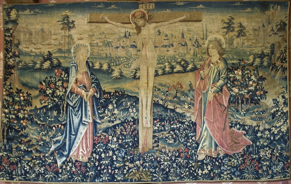 Tapisserie de la crucifixion @ JM Laugery