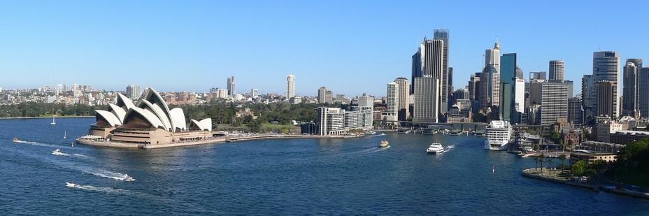Panorama sur Sydney (Australie) - @ Pixabay/Lindigomag