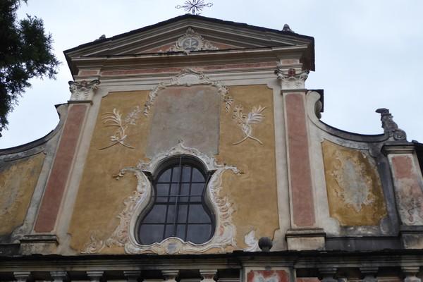 Saorge façade de l'église Saint-Sauveur @ C.Gary
