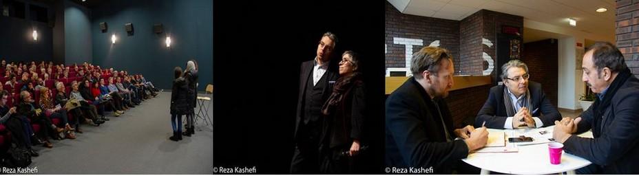 En décembre 2019, le festival de cinéma Nouvelles Images d'Iran qui s'est déroulé à Vitré, une jolie ville d'Art  d'Histoire située aux portes de la Bretagne, avait rencontré un beau succès auprès du public. @ Reza Kashefi.