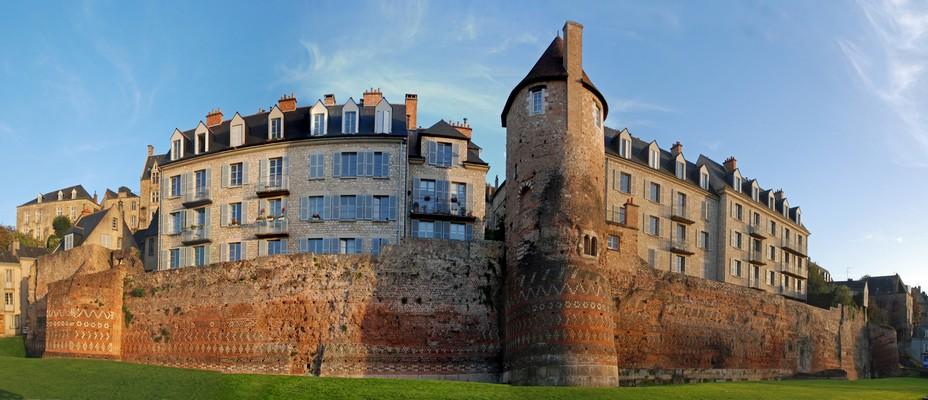 Enceinte gallo-romaine de la ville © pierre poirrier-ville du Mans