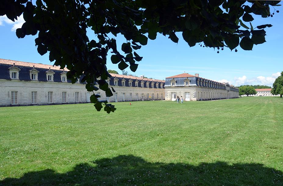 « Que l'on fasse de l'établissement de Rochefort, le plus grand et le plus beau qu'il y ait dans le monde » Louis XIV. Maquettes de l'Arsenal - @David Raynal