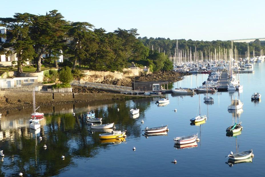 Port de Sainte-Marine   ©Office de Tourisme Quimper Cornouaille