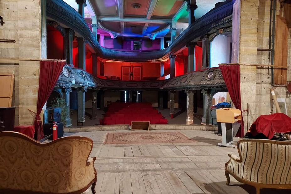 théâtre des Bleus de Bar, vue depuis la scène :@William Alif