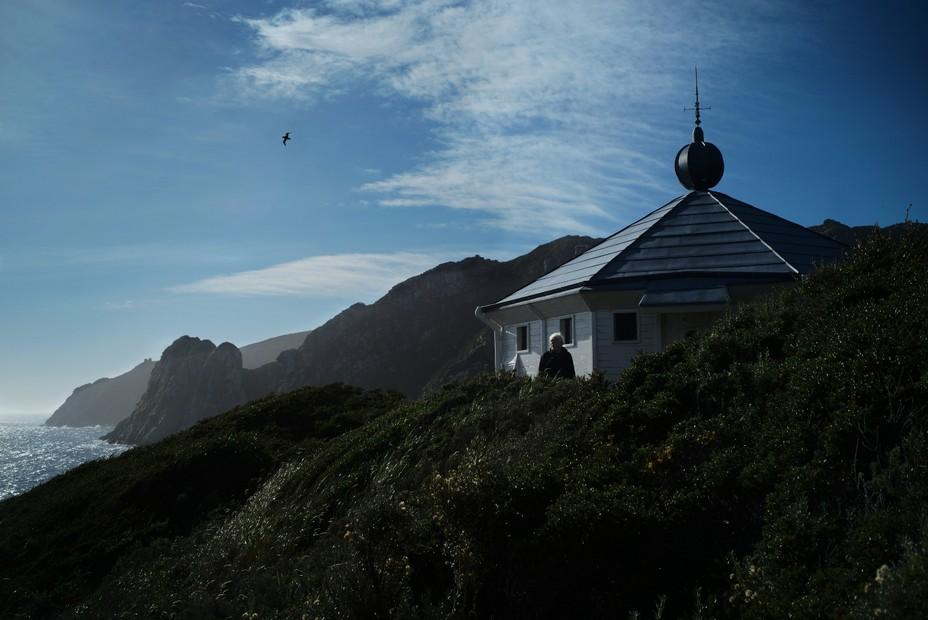 André Bronner  fait le projet fou de débarquer sur l'île des Etats sur les traces du récit de Jules Verne..  @ C.Montenay