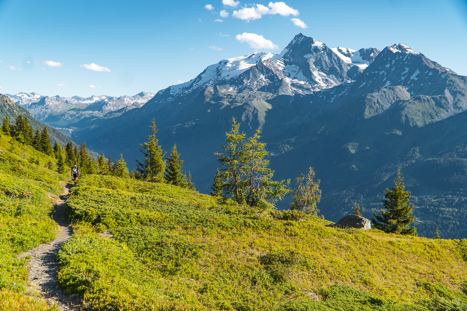 La Rosière Vue sur le Mont Pourri - © La Rosière Tourisme