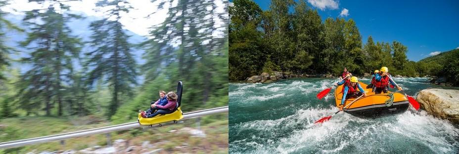 Xtrem luge 4 saisons - © OT La Rosière  ET Rafting petit rapide @andyparant.com