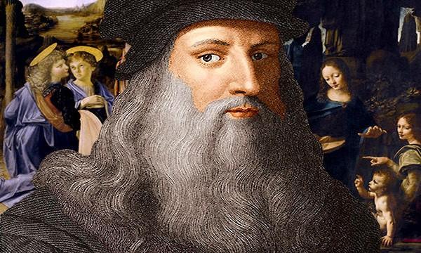 Portrait de Léonard de Vinci au Clos Lucé @ D.R. Le CLos Lucé.