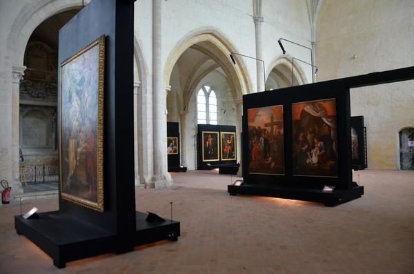 Une exposition d'envergure nationale à l'Abbaye Royale de l'Épau intitulée « Trésors d'art sacré – 30 ans de restauration par le département de la Sarthe ». @ David Raynal