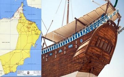 Depuis 5 000 ans les marins omanais ont prouvé leur aptitude au voyage et leur talent d'aventuriers (Crédit photo Sultanat d'Oman)
