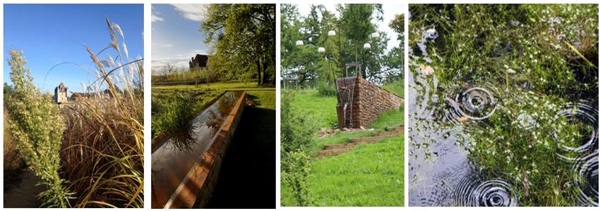 La Fondation La Borie restaure les bâtiments de ce manoir rural depuis 16 ans.Conçus par une équipe de neuf créateurs ingénieux et inventifs, les Jardins sonores de La Borie proposent la découverte unique d'un paysage par l'écoute. (Crédits photos JMPéricat/David Raynal)