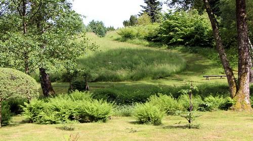 Les jardins de Val-Maubrune à Brionne (Crédit Photo David Raynal)