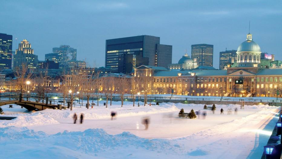 Le plaisir de patiner sur la glace l'hiver à Montréal (photo DR)