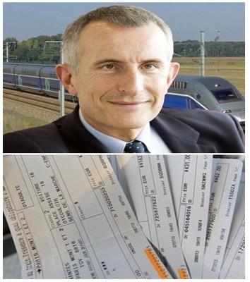 Portrait du Président de la SNCF Guillaume Pepy (Crédit photo DR)