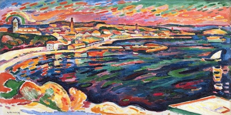 Georges Braque, Le Port de l'Estaque, automne 1906, huile sur toile ; 60, 5 x 73 cm, Copenhague, Statens Museum for Kunst, © Statens Museum for Kunst, Copenhagen, © Adagp, Paris 2013