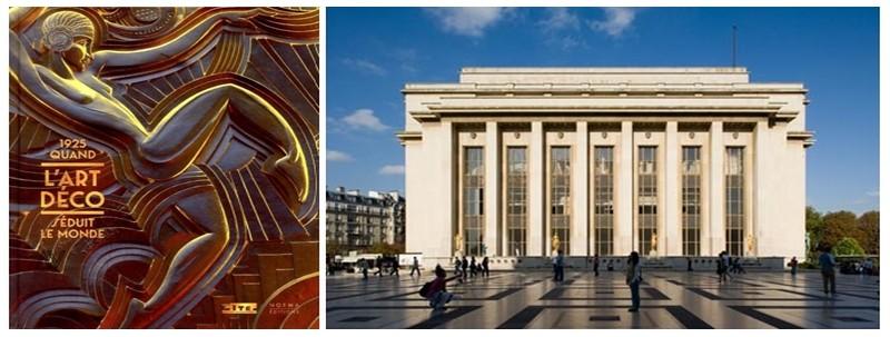 """Affiche de l' Exposition, """" 1925, Quand l'Art Déco séduit le monde"""" Jusqu'au 3 mars 2014 au Palais de Chaillot, Paris  (© CAPA/Gaston Bergeret, 2013)"""