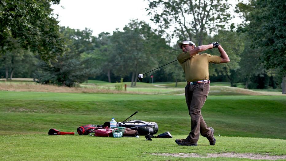 Eric Houballah, sportif de haut niveau,professionnel et enseignant de golf, est le premier Français a avoir participé au championnat du monde de Mesquite-Las Vegas. (Crédit photo Jean-Claude Menez)