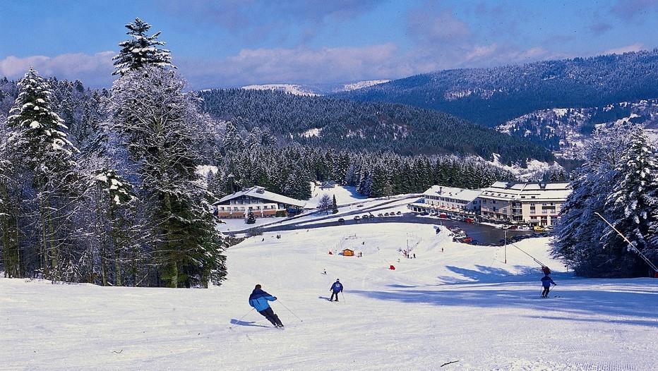 Paradis des skieurs, le site de Ventron dans les Vosges ( Crédit photo DR)