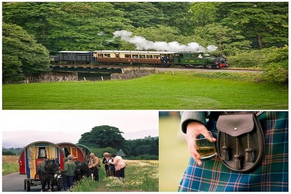 Une expérience à ne pas manquer pendant votre périple : prendre un des Great Little Trains du Pays de Galles. (Photos Vist Wales end Scotland).