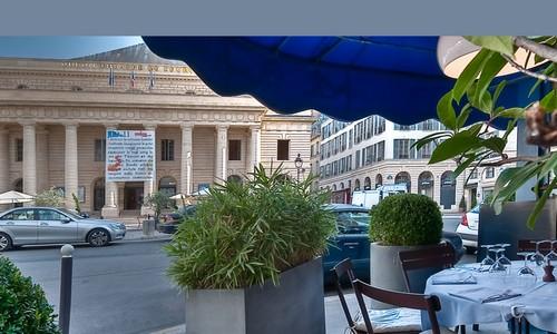 Le restaurant La Méditerranée occupe une place de choix à deux pas du Sénat et au cœur de la mecque des Editeurs  (Photo DR)