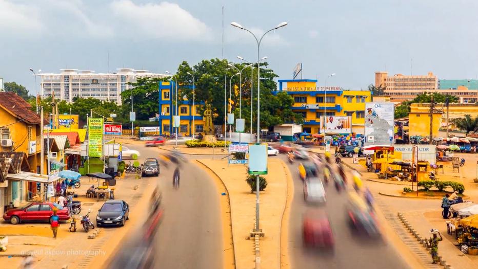 Un jour ordinaire à Cotonou, capitale du Bénin (Crédit Photo Mayeul Akpovi)