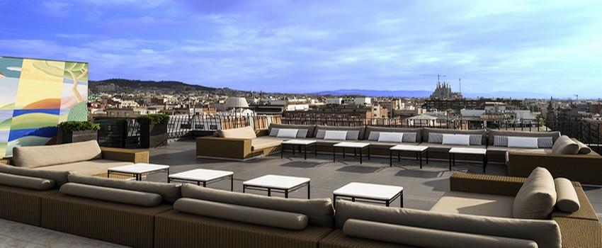 Situé au dernier étage de l'hôtel, le MajesticSpa est une véritable oasis de sérénité dans la fureur de la capitale catalane (Crédit Photo DR)